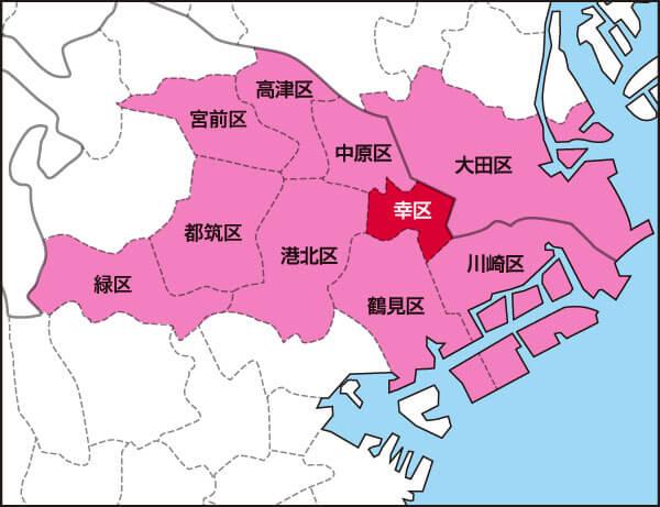 Areas we visit